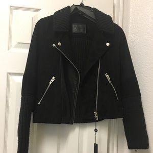 BLANKNYC  Black Suede Moro Jacket NWT